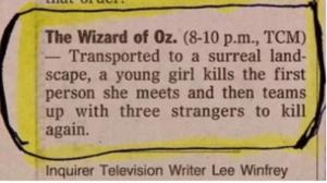 Wizard of Oz Logline
